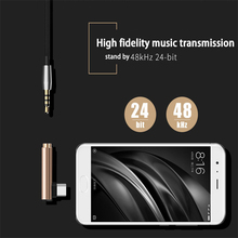 Mini USB Type C Audio Adapter Type-C male to 3.5MM Jack female Converter Headphone Cable for Samsung LG Xiaomi Google Nexus