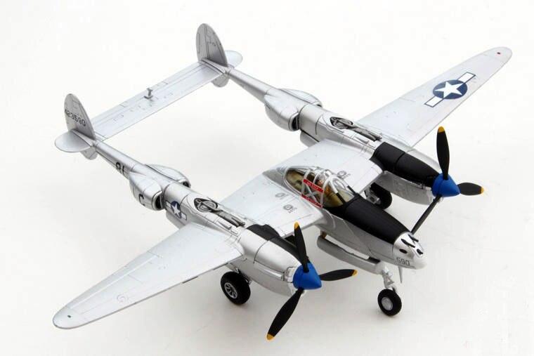 new rare Fine Corgi 1/72 World War II US Army P-38J Lightning fighter AA36613 Collection model Holiday gifts ae 75006 1 24 world war ii us marine corps stretcher squad
