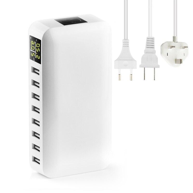 INGMAYA Multi Port USB լիցքավորիչ 5V8A LED Showույց - Բջջային հեռախոսի պարագաներ և պահեստամասեր - Լուսանկար 5