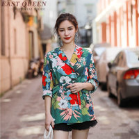 Blaser female floral boho chic blazer woman 2018 DD1206