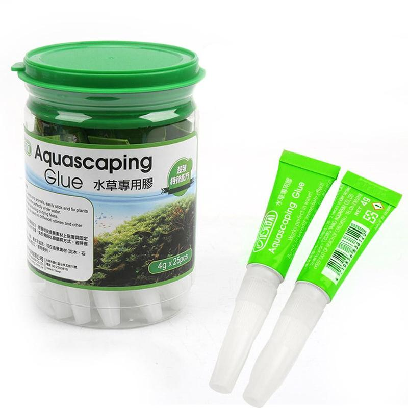 Aquarium Glue Aquascaping Glue Aquatic Plant Dead-wood Moss Coral Sea Fresh Stone Tank Aquarium