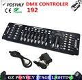 2016 новый! 192 контроллер DMX освещение сцены dmx512 консоли профессиональный dj оборудование 100% новый