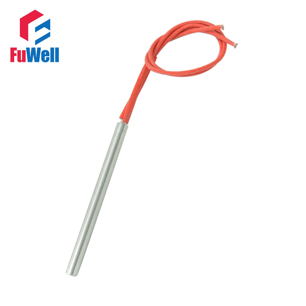 AC 110V 220V 380V 9 5x150mm 350W Cartridge Heater Element Singe Head Red Wire