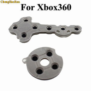 Image 5 - Chenghaoran 10 세트 xbox 360 용 xbox360 무선 컨트롤러 용 전도성 고무 실리콘 패드 연락처 버튼 d 패드 수리