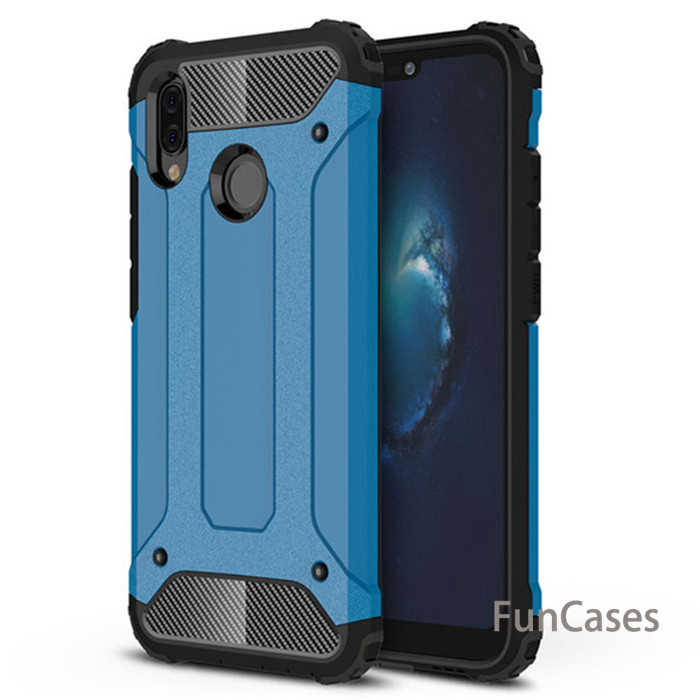 For Huawei P20 P 20 Lite case Hybrid Armor Hard Rugged Impact Coque Capa Cover For P20 Pro P20 plus covers cases Hauwei