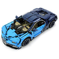 Hot Compatible LegoINGlys Technic Supercar Bugatti Chiron 42083 Building Blocks Bricks Educational Toys for Children Gifts