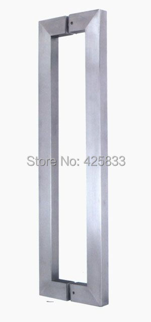 1000mm Stainless Steel Brush shower door Drawer Pulls knobs furniture hardware wholesale