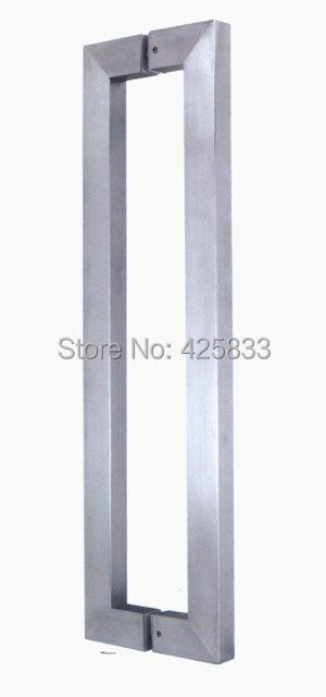 1000mm Stainless Steel Brush shower door Drawer Pulls knobs furniture hardware wholesale