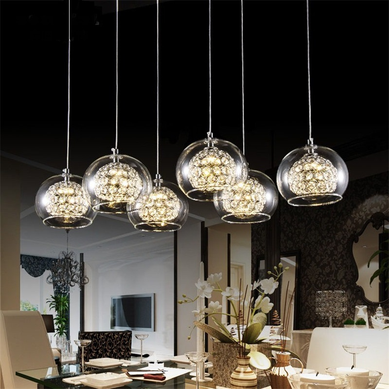 Wine Glass Ceiling Light NEW Modern 6 Light Crystal Glass Clear Wineglass Lamp bedroom dining room crystal lamp crista led FG784 9 free shipping bedroom pleated clear glass ceiling light new modern bar counter fashion hallway gallery ceiling lamp