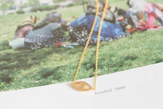 ヒナギクビジュー 2018 弓犬カエデの葉のペンダントネックレスの宝石