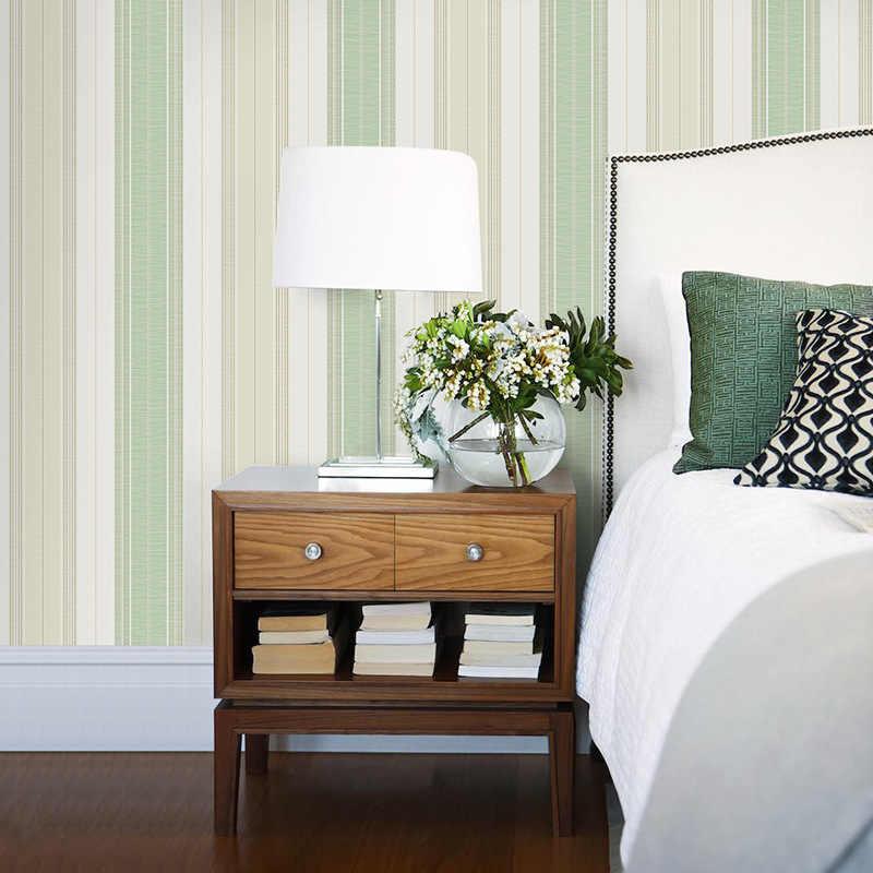 Обои с вертикальными полосками в европейском стиле, гостиная, спальня, ТВ, нетканые обои