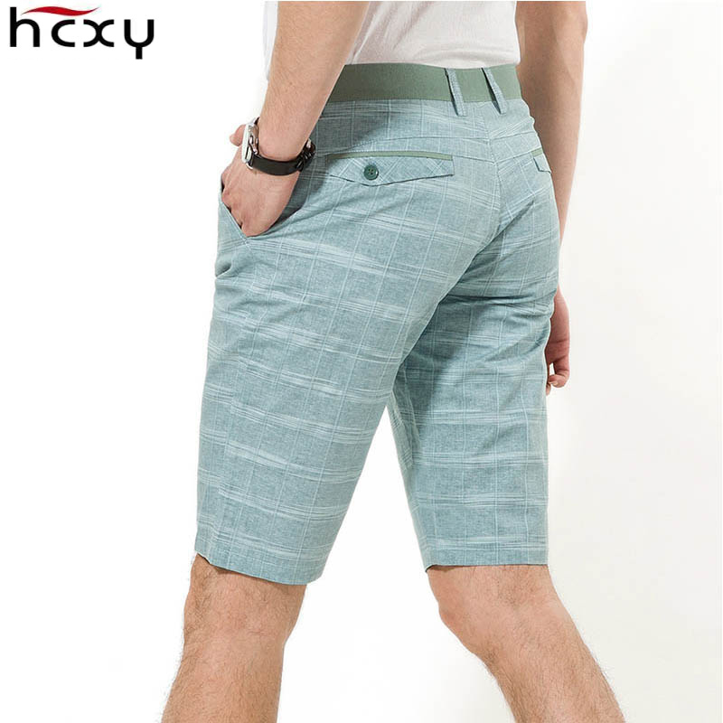 HCXY Linen Shorts Male Cotton Summer-Style Beach Tide Top-Quality