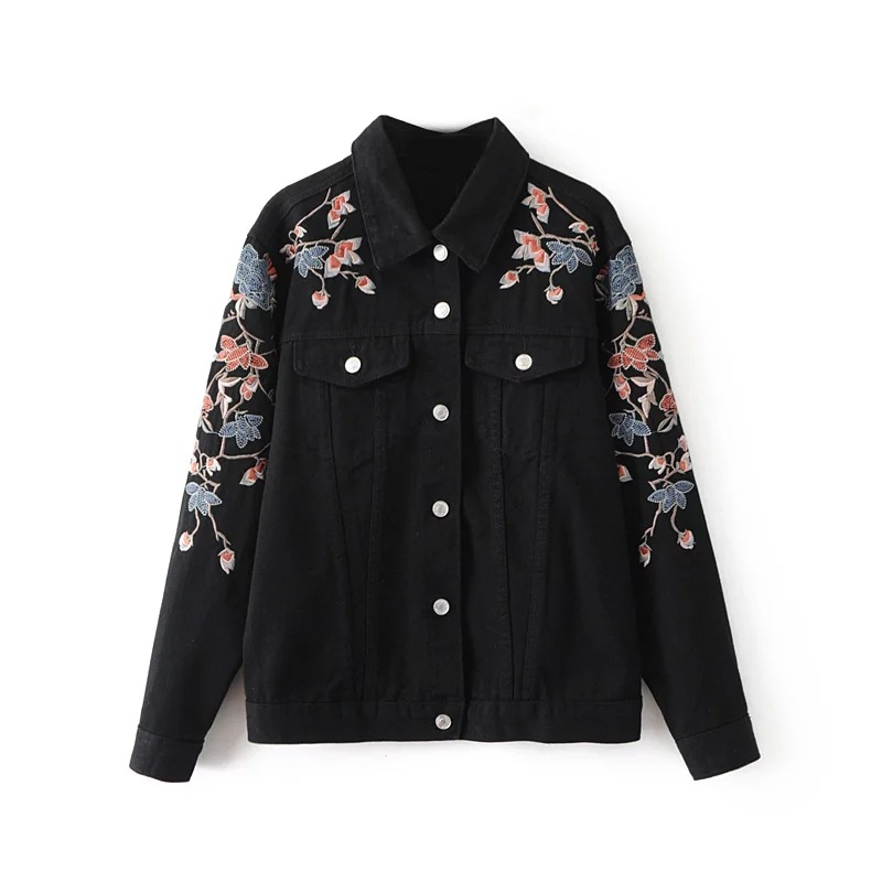 Popular Ladies Black Jean Jacket-Buy Cheap Ladies Black Jean ...