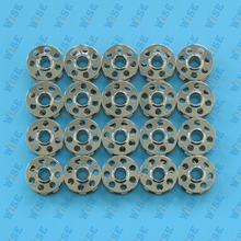 20 SEWING MACHINE BOBBINS METAL FITS BERNINA Artista Aurora Activa Virtuosa 0115367000 20PCS