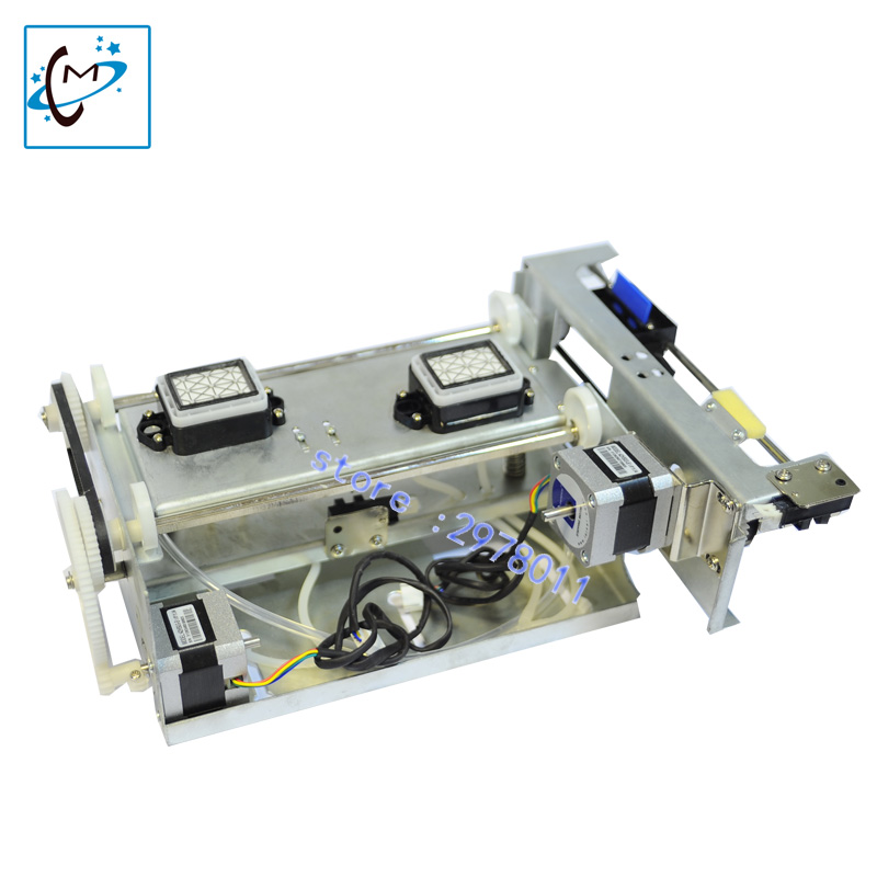 good quality DX5/DX7 two head ink pump assembly /ink cleaning assembly for wit color /mutoh /skycolor /zhongye printer hot sale single dx5 ink pump assembly for flora versacamm leopard large format printer machine