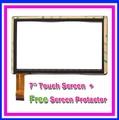 "Free Film + New 7"" irulu expro x1 / IRULU X7 tablet touch screen panel Digitizer Glass Sensor Replacement Free Shipping"