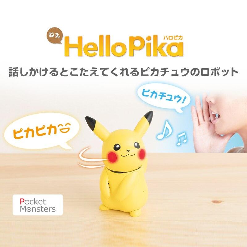 TAKARA TOMY POKEMON GO PIKACHU bonjour PIKA parlant son ROBOT jouet (il parle et se retourne et fait diverses réactions mignonnes)