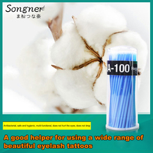 Beauty Eyelash Cleaning Multi-Purpose Cotton Swab Grafting Health Glue Remover Special