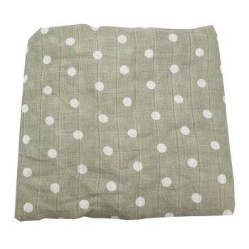 Mantas de muselina de algodón, ropa de cama de bebé, Toalla de baño para recién nacidos, accesorios de fotografía al por mayor y Dropship