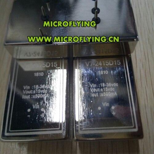 Livraison gratuite V7 2415D15 module d'isolement dc dc 18 à 36 v tension d'entrée 24 v positif négatif 15 v, 500 ma 15 w-in Pièces de rechange et accessoires from Electronique    1