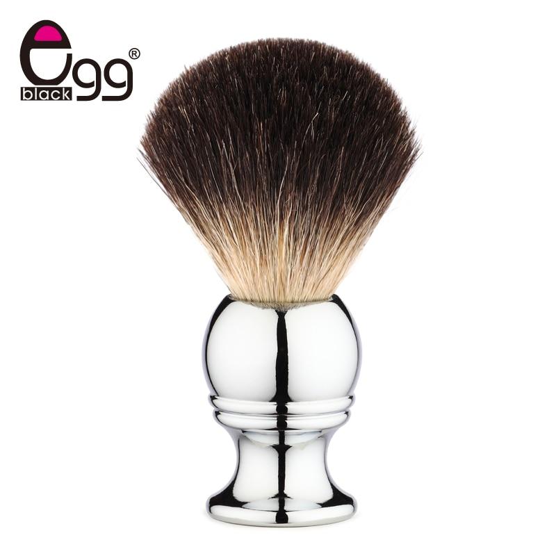 Badger Bristle Shaving Brush Shave Razor Beard Brushes With Stainless Steel Handle For Men's Shave Pro Facial Brush Tool anbbas shaving brush luxury shave brushes 100