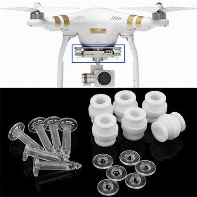 6 個ユニバーサル防振ボールダンプニングラバーボールショックアブソーバーdjiファントム 3 quadcopter 4 軸カメラジンバル