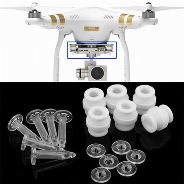 6 stücke Universal Anti Vibration Ball Dämpfende Gummi Bälle Stoßdämpfer für DJI Phantom 3 Quadcopter 4 achse Kamera gimbal