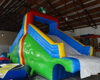 Little frog inflatable slide swimming pool slide inflatable water slides for sale