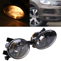 LED Car Headlight Conversion Kit Front Fog Lamp For Volkswagen Touareg 2010 2011 2012 Super Bright Yellow Driving Headlamp