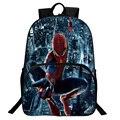 Nova Nylon Maravilhado Mochila The Avengers Spider Man Mochila de Ombro Bolsa Escola Para Adolescente Mochila Mochila Anime Super-heróis