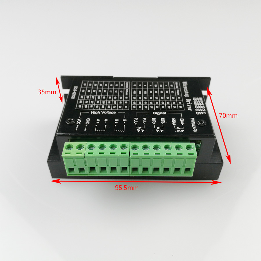 TB6600 Stepper Motor Driver Support nema 42 57 86 CNC controller 32 Segments Upgraded Version 4 0A 9 42VDC Milling Kits in Motor Driver from Home Improvement