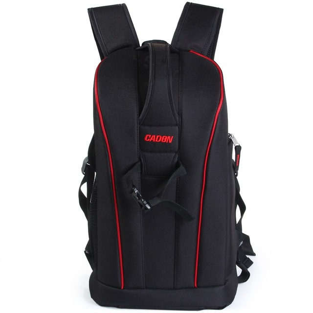 New CADEN K6 Anti-theft Waterproof Camera Bags Nylon Backpack 14 Computer Laptop Traveling Bag for DSLR Camera Canon Nikon Sony