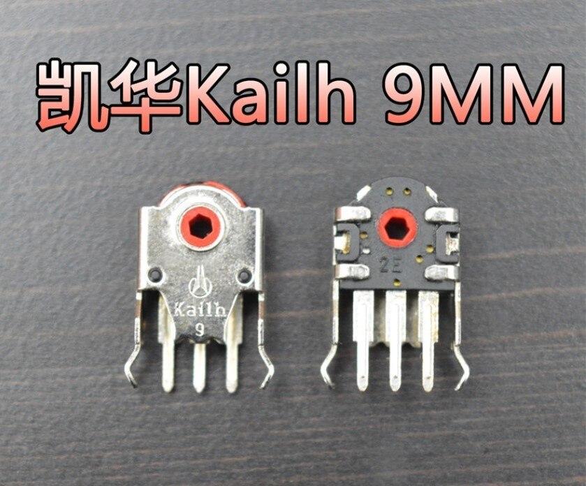 1 шт. оригинальный Kailh новое издание 9 мм/10 мм/11 мм кодер мыши красный core