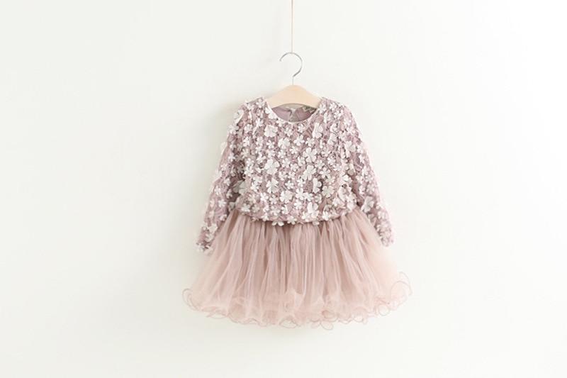 HTB1WVbDkJcnBKNjSZR0q6AFqFXaP Petals Designs Girl Dress Children Party Costume Kids Formal Events Vestidos Infant Tutu Flower Dress Fluffy Wedding Gown 3 5 7T