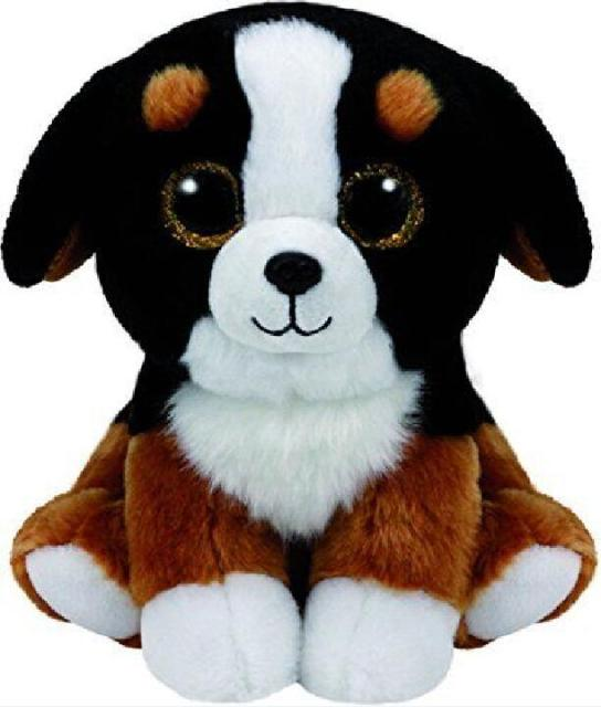 Ty Beanie Babies Roscoe The Bernese Mountain Dog Big Glitter Eyes