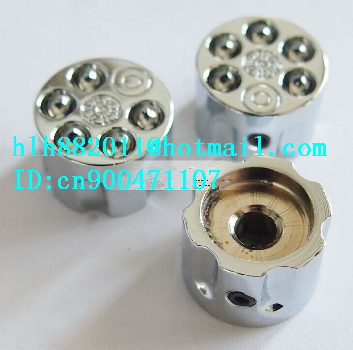 free shipping new electric guitar 3 tone and  volume metal adjustable electronic Control Knobs cap   DM-8077