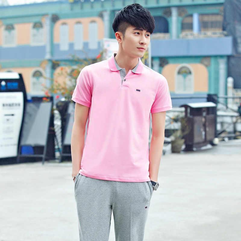 Rlyaeiz 2019 di Estate Tute Sportive Degli Uomini di Casual Tuta Set Confortevole Cotone Slim T shirts + Pantaloni della Tuta del Vestito Più Il Formato 4XL