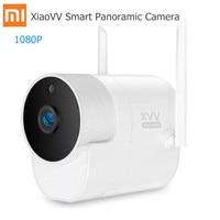 Xiaomi XiaoVV Smart 1080P панорамный 180 градусов управление приложением ИК ночного видения водонепроницаемый Ourdoor WiFi ip-камера видеоняня