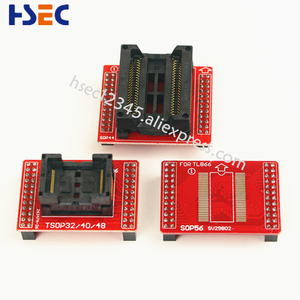 Image 5 - 8pcs Original V3 TSOP48/40/32 ซ็อกเก็ต SOP44/56 อะแดปเตอร์ XGecu TL866II Plus MiniPro TL866CS /A Tl866 Universal USB