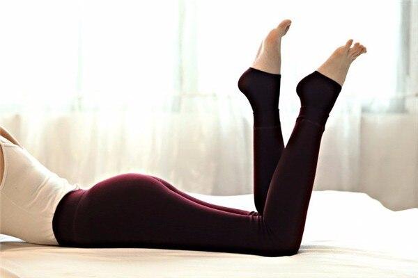 ATHVOTAR S-XL 8 Colors Winter Leggings Women's Warm Leggings High Waist Thick Velvet Legging Solid All-match Leggings Women