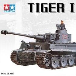 Tamiya char militaire modèle 1:35 échelle tigre Panzerkampfwagen VI Ausf E Sd Kfz 181 Kit de construction de réservoir réservoir passe-temps bricolage 35216