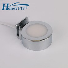 HoneyFly opatentowana lampa LED nad lustro 220V 2W LED typu Downlight Clip Mounted łazienka lustro do sypialni lampa kryty bardzo łatwa instalacja