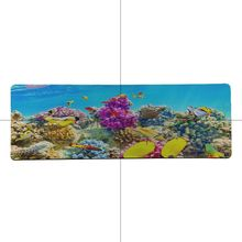 MaiYaCa Design Cute Marine life ocean Fishes Large Mouse pad PC Computer mat Soft Rubber Professional Gaming Mouse Pad Computer