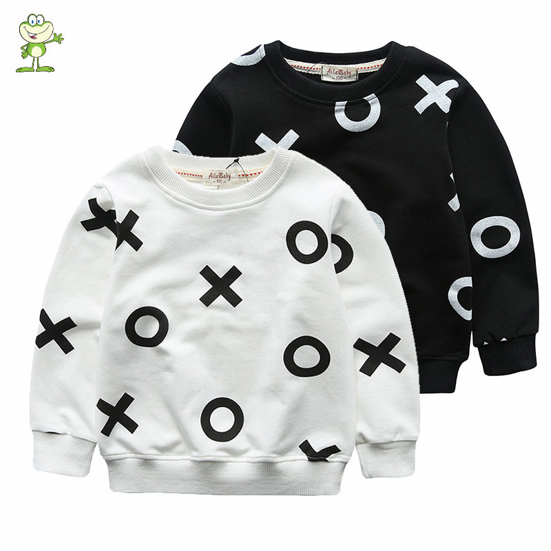Retail Autumn-Spring sweatshirt children hoodies Girls Boy clothes cotton sports suit hoodie jchao Cartoon print kids clothing