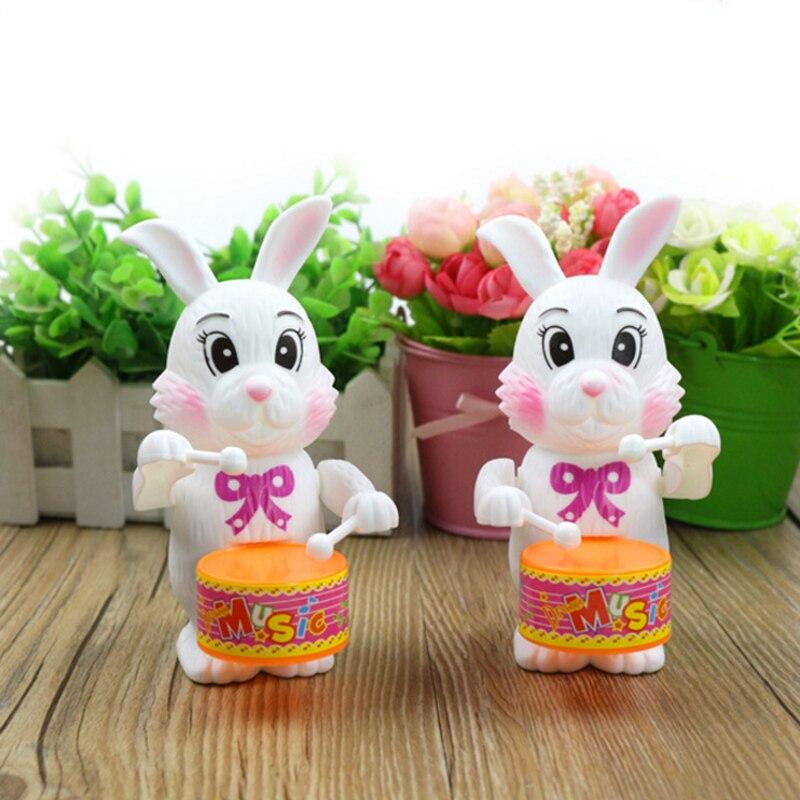 1 шт. кролик из мультфильма барабанные заводные игрушки для детей Забавные Игры развивающие детские подарки на день рождения сюрприз 2019 новейшие