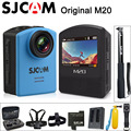 Original sjcam m20 câmera de ação esporte sj cam debaixo d' água 4 k wi-fi Gyro Mini DV Camcorder 2160 P HD 16MP Com Formato BRUTO À Prova D' Água