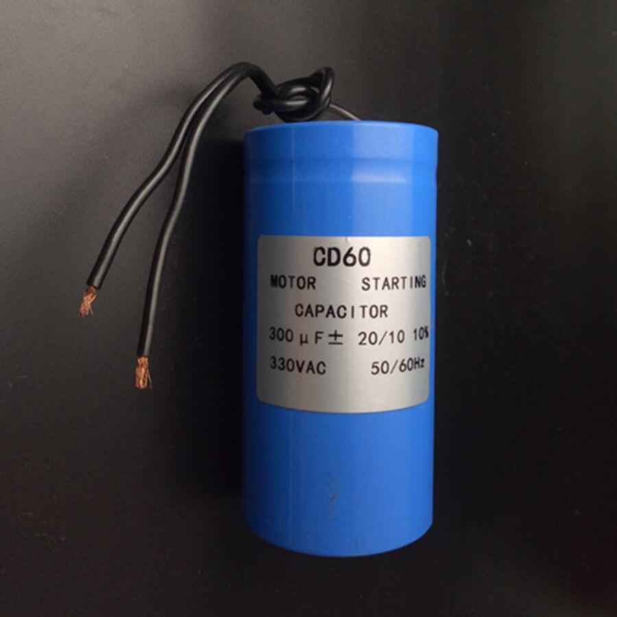 Motoranlaufkondensator 300 Uf 330vac Fr Schwere Elektrische Duro Capasitor Kotak 25uf Kabel Motorleistung Einheit Auto Lift Kostenloser Versand In