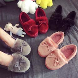 Детские весенние и осенние туфли принцессы для девочек, детские зимние и осенние новые хлопковые тапочки, зимние ботинки, теплые тапочки