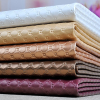 1pcs 50cm 138cm PVC Faux Leather Fabric For Sewing Bedside Soft Background Sliding Door Car