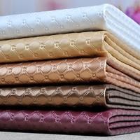 1pcs 50cm 138cm PVC Faux Leather Fabric For Sewing Bedside Soft Background Sliding Door Car